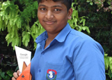 S. Shyam won the Google Code to Learn contest