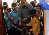 Inauguration of the Imageminds Creative Labs at Labour India Gurukulam Public School