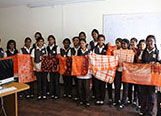Tie n Dye Workshop conducted for the fashion designing students of Velammal Bodhi Campus